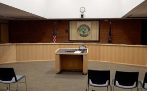 Ann Arbor City Council Chambers